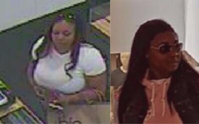 Dos mujeres se fueron de compras con las tarjetas de crédito robadas a u...