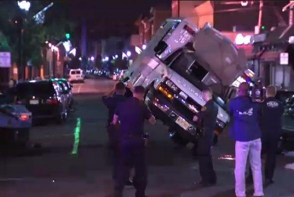 El accidente sucedió cuando un vehículo todo terreno no vio la ambulanci...