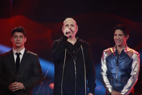 """Miguel Bosé interpretó uno de sus más grandes éxitos, """"Te amaré""""."""