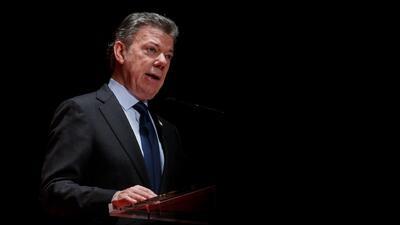 """Presidente de Colombia: """"Le dije a Trump que el mejor muro que puede construir es el desarrollo de América Central"""""""