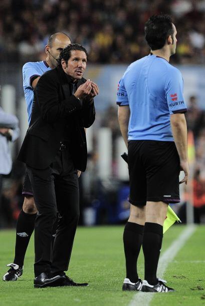 El 'Cholo' Simeone estaba desesperado por decisiones arbitrales, pero ni...