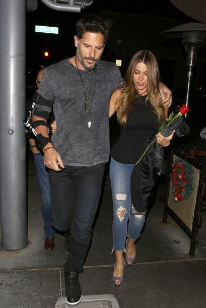Sofía y Joe siguen muy enamorados.