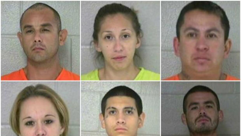 El Condado de Medina detuvo a seis miembros de una banda dedicada al rob...