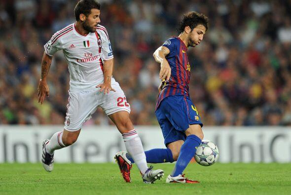 En su lugar ingresó Cesc Fábregas.
