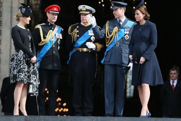 Fue un servicio conmemorativo para los cientos de soldados británicos.
