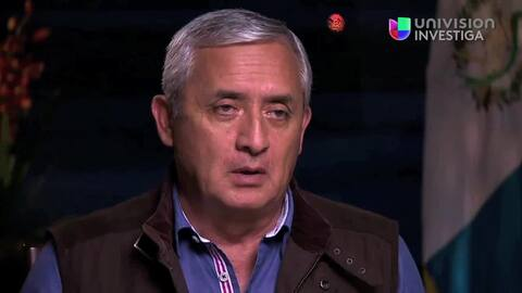 Otto Perez sobre la captura de El Chapo Guzman