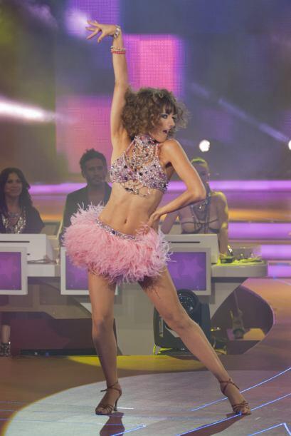 No cabe duda de que Raquel es una experta en el baile.