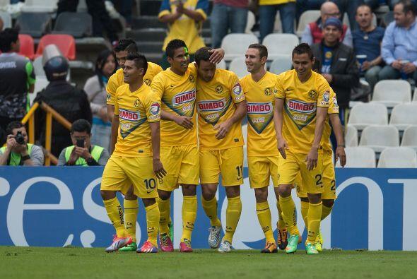 El colombiano anotó en el último juego que tuvo el América en el Azteca...
