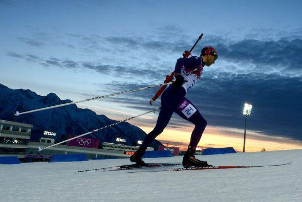 El noruego Ole Einar Björndalen agrandó su condición...