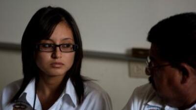Marisol Valles de 20 años que asumió el mando policial en un municipio d...