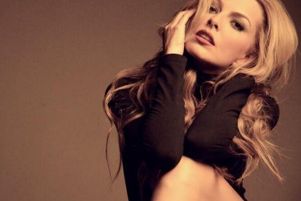 La actriz venezolana provocó sensación desde que apareci&o...
