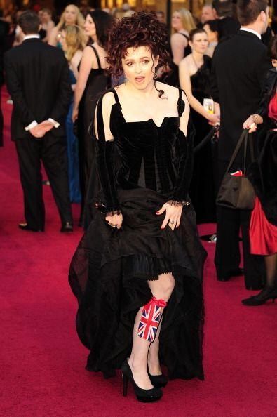 Helena Bonham Carter siempre cree que hace una adecuada elección 'fashio...