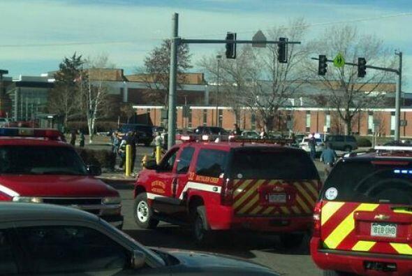 Diversos cuerpos de seguridad fueron movilizados al lugar. (Fotografía t...