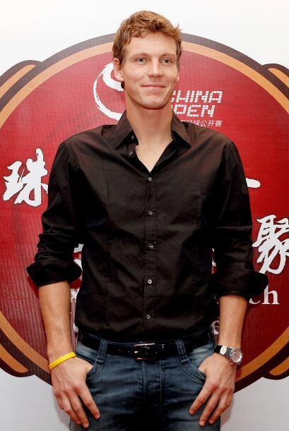 Número 6: El sexy pelirrojo de la ATP, el checo Tomas Berdych, es...