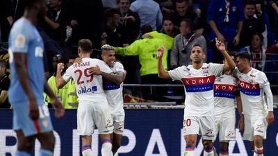 Sin el 'Tigre' Falcao, Mónaco cayó ante el Lyon
