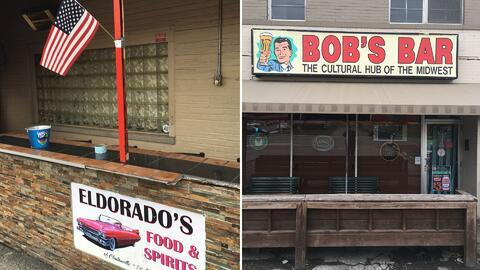 Dos bares de Clintonville, Ohio, con clientela política totalment...