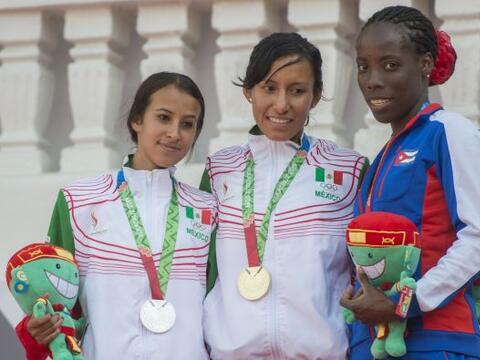 En la segunda jornada del atletismo de los Juegos Centroamericanos y del...