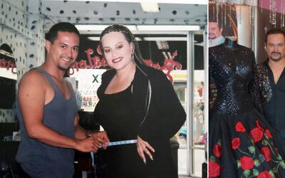 Adán Terriquez diseñó más de 500 vestidos para Jenni Rivera