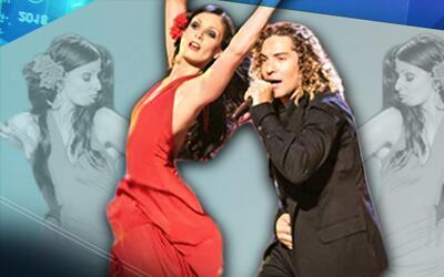 Dayanara Torres le dio clases de flamenco a David Bisbal en PLN 2005