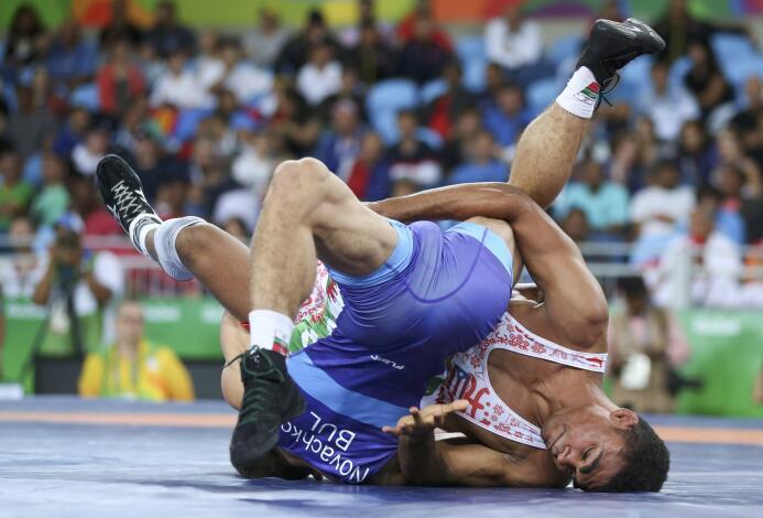 Gómez pasó directo a la segunda ronda de los 65 kilogramos tras vencer a...