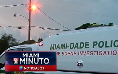 'Miami en un Minuto: un muerto y dos heridos críticos dejó un tiroteo en...