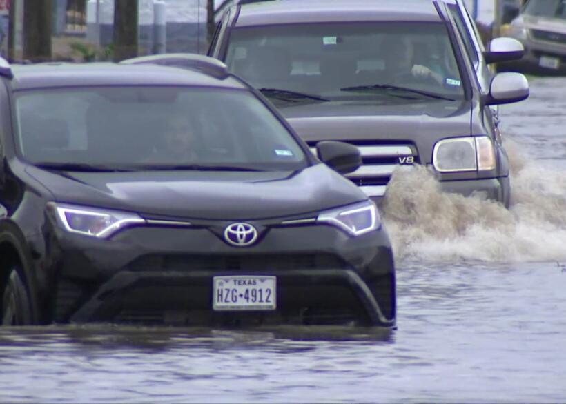 La amenaza de inundaciones en Houston, un problema que se repite año tra...