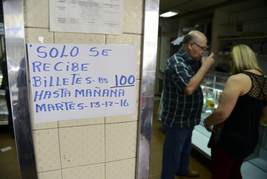 Muchos comercios del país anunciaron que solo recibirán billetes de 100...