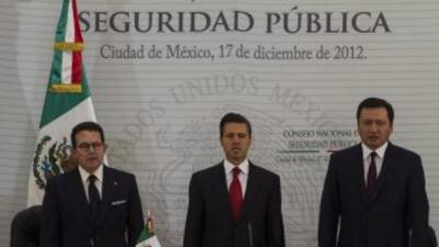 El presidente mexicano anunció seis líneas de acción en materia de segur...