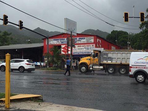 A lo largo y ancho de Puerto Rico se comparten imágenes de las personas...