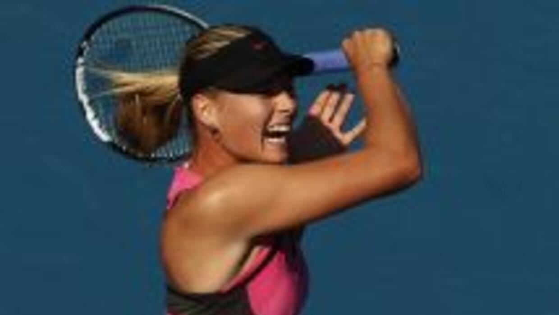 ¡Maria Sharapova es muestra de belleza y talento!