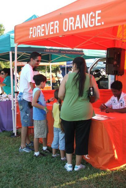El Houston Dynamo llevó a cabo el evento denominado Fútbol Fiesta.