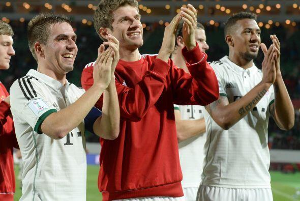 Triunfo definitivo de 3-0, suficiente para que el Bayern se coloque en l...