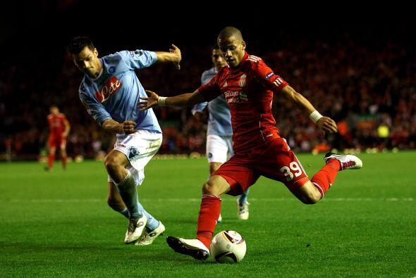 El Liverpool recibió al Napoli con el objetivo de sacar tres valiosos pu...