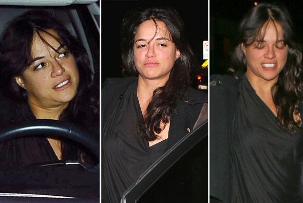 Definitivamente Michelle no estaba en condiciones óptimas para conducir.