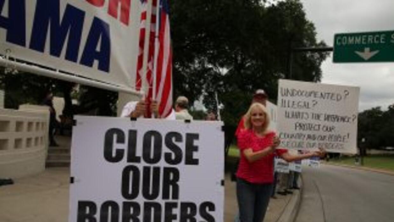 El cierre de las fronteras es la petición repetitiva de estos grupos