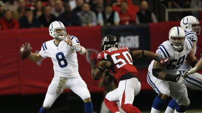 Colts 24-21 Falcons: IND con Hasselbeck sí gana, Atlanta en pleno derrum...