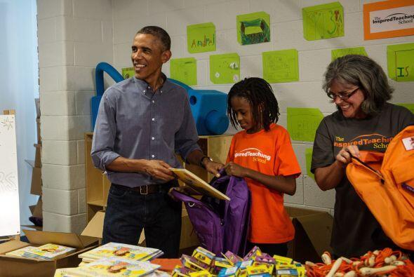 Entre risas, tanto el presidente como sus esposa respondieron que entend...