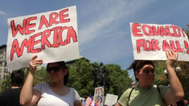 La organización Acción Fronteriza quiere registar el mayor número de lat...