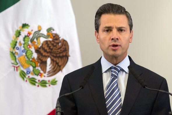 """Enrique Peña Nieto: """"Mi tristeza y solidaridad a los heridos y familiare..."""