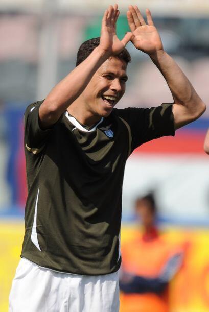 Hernanes estaba feliz de haber abierto los cartones, el Lazio aprovechó...
