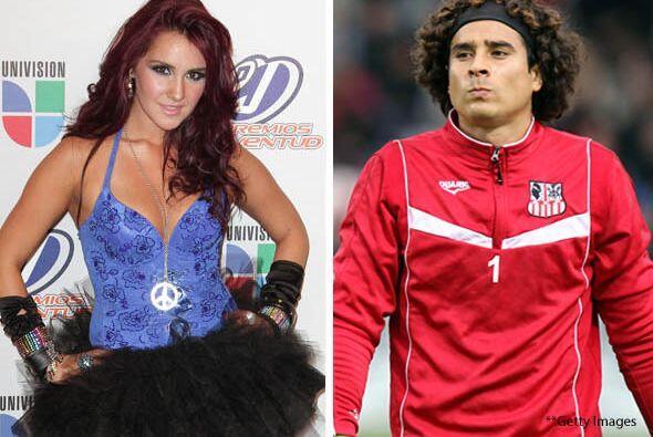 Aunque no lo creas Dulce María y el futbolista Guillermo Ochoa tuvieron...