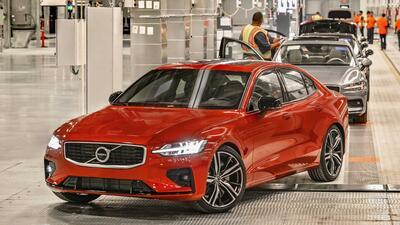 Volvo produce carros en Estados Unidos por primera vez