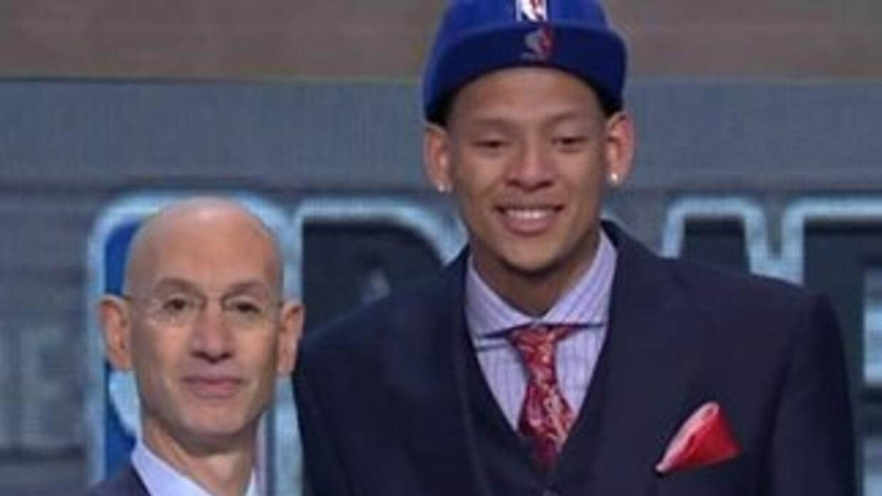 Touching Moment NBA Draft