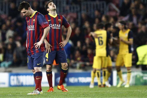 Los catalanes fueron sorprendidos, no podían creer que estuvieran abajo...