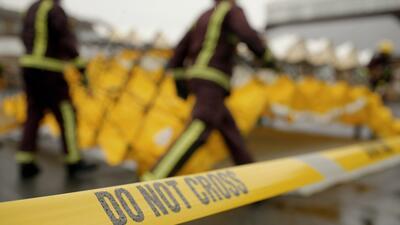 Una ciclista muere tras ser atropellada por un camión de basura en el área de los museos