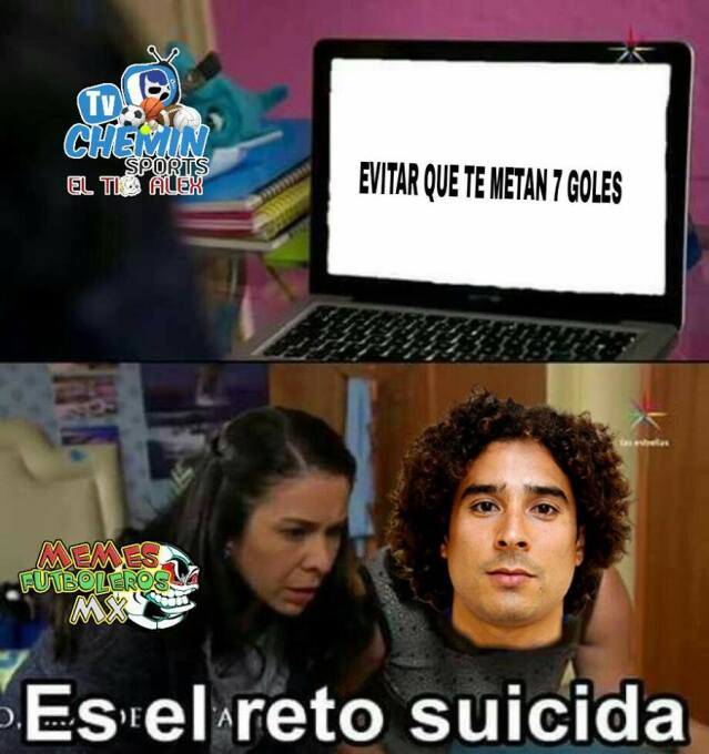 Javier Hernández se convirtió en el goleador del Tri y los memes le apal...
