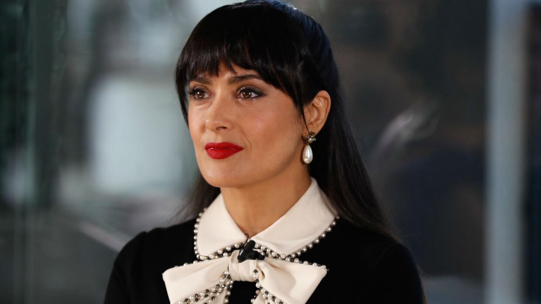 Salma Hayek habla de 'Beatriz At Dinner', película que enfrenta temas de...