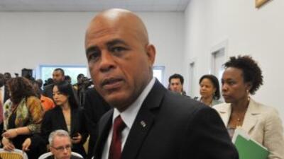 El presidente de Haití, Michel Martelly.