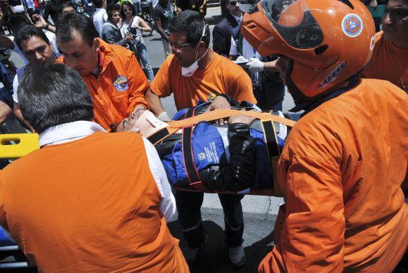Mayo 15- En la ciudad de Bogotá, Colombia se comete un atentado t...