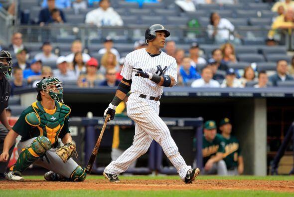 2B. Robinson Canó. Yankees de Nueva York. El dominicano bateó siete impa...